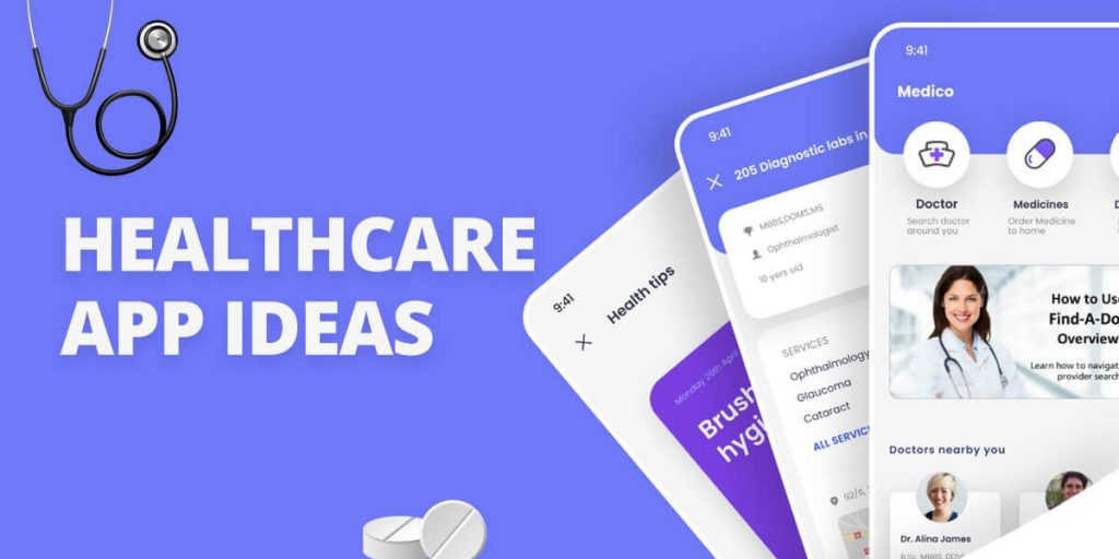Healthcare and Medical App Ideas
